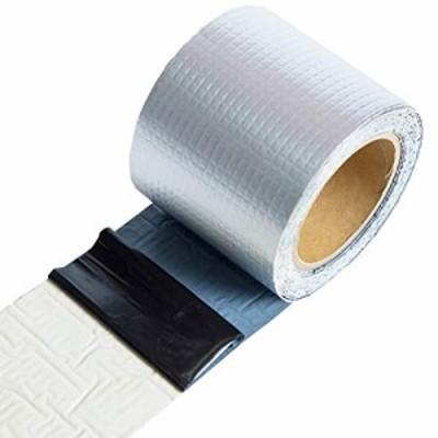 ブチルテープ ひび割れ 補修テープ 亀裂 修理 防水 粘着テープ シーラントテープ 防水 強力粘着 壁 屋根 配管 雨漏り 水漏れ 水回り多用