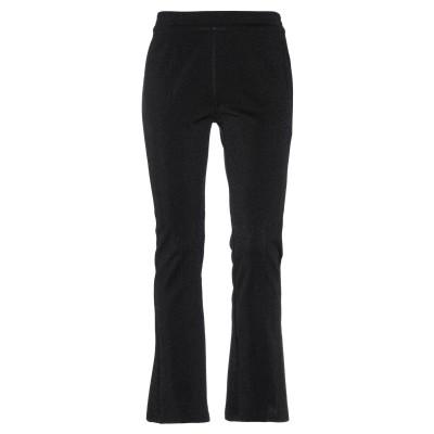 DOUUOD パンツ ブラック 40 コットン 62% / ナイロン 21% / ポリエステル 17% パンツ