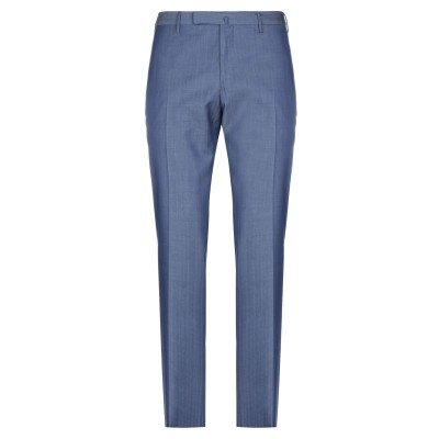 インコテックス INCOTEX パンツ ブルー 46 ウール 50% / コットン 50% パンツ