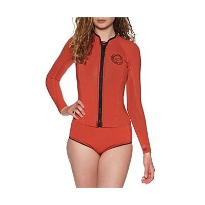 Billabong Womens Peeky 1mm Neoprene Wetsuit Coat Jacket - Samba - Long Sleeve - Womens Wetsuit Jacket【並行輸入品】