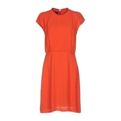 ピンコ PINKO ミニワンピース&ドレス オレンジ 42 レーヨン 100% ミニワンピース&ドレス
