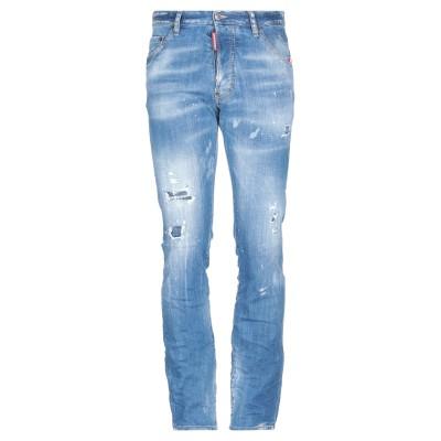 ディースクエアード DSQUARED2 ジーンズ ブルー 52 コットン 98% / ポリウレタン 2% ジーンズ