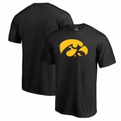 Fanatics Branded ファナティクス ブランド スポーツ用品  Iowa Hawkeyes Black Primary Logo T-Shirt