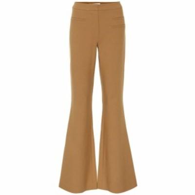 レジーナ ピヨ Rejina Pyo レディース ボトムス・パンツ Ashley flared wool-blend pants chestnut