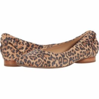 ベルナルド Bernardo レディース スリッポン・フラット シューズ・靴 Eloise Sand Cheetah Print Suede