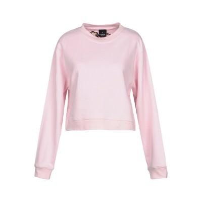 PINKO UNIQUENESS スウェットシャツ ピンク L コットン 100% スウェットシャツ