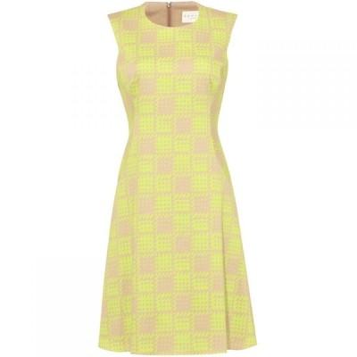ダンセル Damsel in a Dress レディース ワンピース ノースリーブ ワンピース・ドレス Camilla Sleeveless Printed Dress Yellow