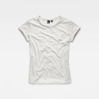 gstar ジースター ファッション 女性用ウェア Tシャツ gstar sundu-knotted-straight-rt-ny-jersey