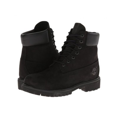 ティンバーランド Timberland メンズ ブーツ シューズ・靴 6' Premium Waterproof Boot Black Nubuck