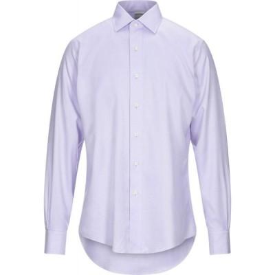 ブルックス ブラザーズ BROOKS BROTHERS メンズ シャツ トップス solid color shirt Lilac