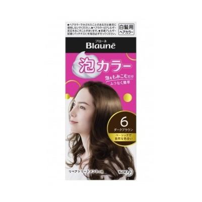 【医薬部外品】ブローネ 泡カラー 6 ダークブラウン