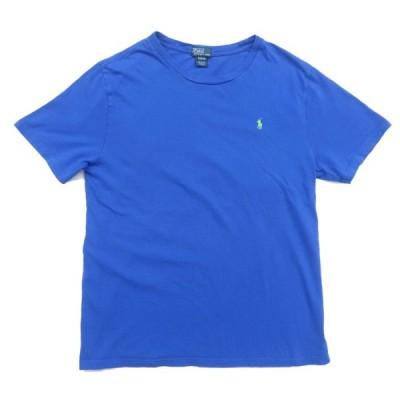 ポロラルフローレン ワンポイントロゴ ポケットTシャツ ブルー サイズ表記:ボーイズXL