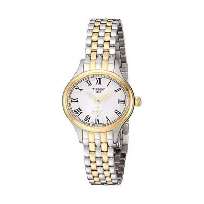 腕時計 ティソ レディース T1031102203300 Tissot womens Bella Ora Stainless Steel Dress Watch Grey &