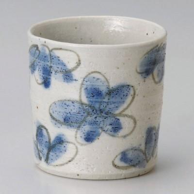 業務用食器 花園藍ロックカップ φ8.5�(約310�)