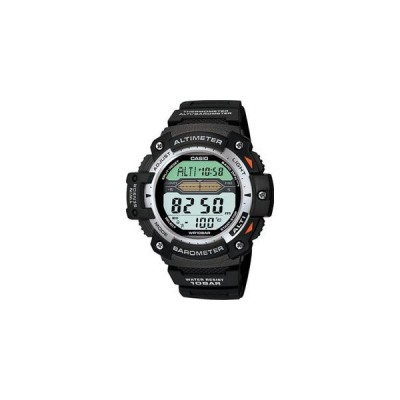 カシオ スポーツウォッチ 10気圧防水 メンズ デジタル 腕時計 (SPR10JL01) 気圧計 高度計 温度計 LEDライト付き 登山 時計 CASIO マラソン ランニング 時計
