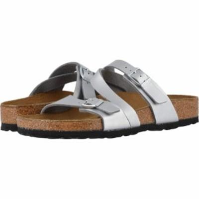 ビルケンシュトック Birkenstock レディース サンダル・ミュール シューズ・靴 Salina Silver Sea Birko Flor?
