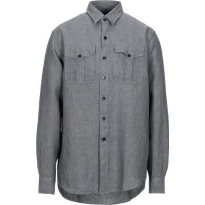 ベルスタッフ BELSTAFF メンズ シャツ トップス linen shirt Grey