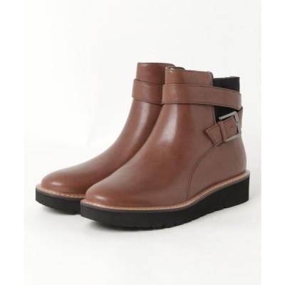 ブーツ ナチュラライザー/N601F9739/ベルト付デザイン/ショートブーツ