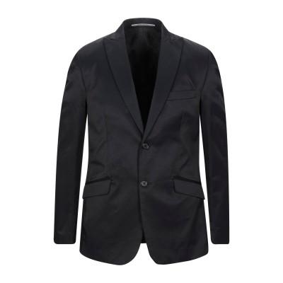 EXIBIT テーラードジャケット ブラック 50 コットン 70% / ナイロン 30% テーラードジャケット