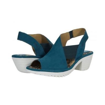 FLY LONDON フライロンドン レディース 女性用 シューズ 靴 ヒール Wily - Teal