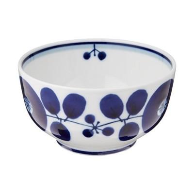 白山陶器 デザートカップ 青 ブルーム 約10×5.5cm 波佐見焼 日本製 ama-749929