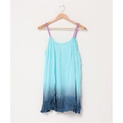 ドレス 【ginger and sprout】グラデーションキャミドレス