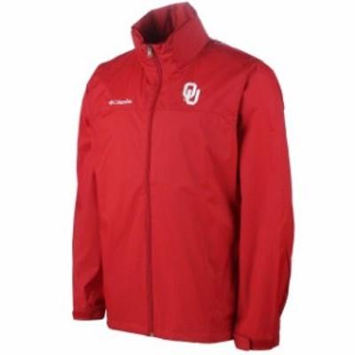Columbia コロンビア スポーツ用品  Oklahoma Sooners Crimson Glennaker Lake Full Zip Rain Jacket