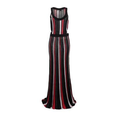 シルビアンヒーチ SILVIAN HEACH ロングワンピース&ドレス ブラック XS レーヨン 100% / 金属 ロングワンピース&ドレス