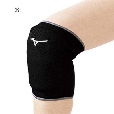 ミズノ バレーボール サポーター 膝用 レディース 膝サポーター ブラック 09 MZ-V2MY8010-09