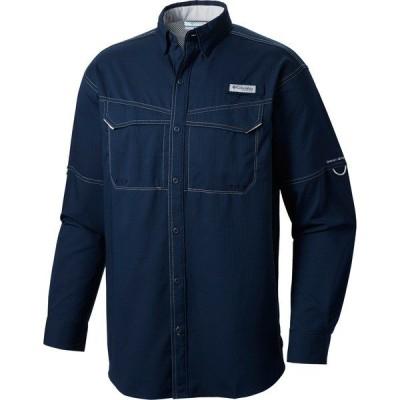 コロンビア シャツ トップス メンズ Columbia Men's PFG Low Drag Offshore Long Sleeve Shirt CollegiateNavy/Pfg