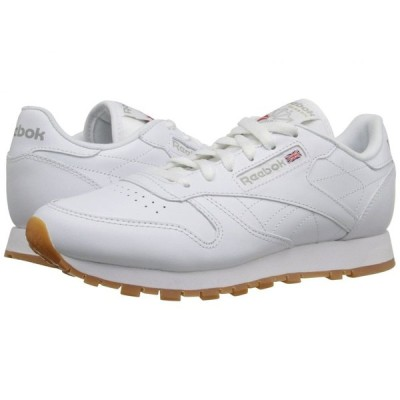 リーボック Reebok Lifestyle レディース スニーカー シューズ・靴 Classic Leather White/Gum