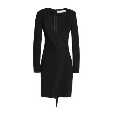 GALVAN  London ミニワンピース&ドレス ブラック 38 レーヨン 98% / ポリウレタン 2% / アセテート / ポリエステル ミ