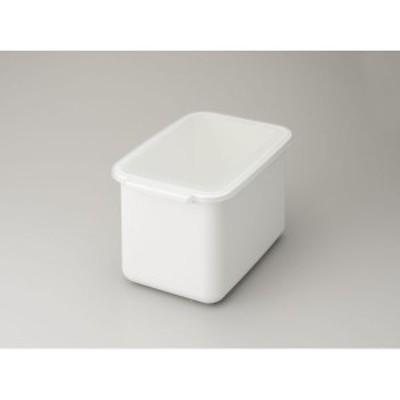 伸晃 4964806021477 システムキッチン用ライスボックス6kg ホワイト BRB-6W