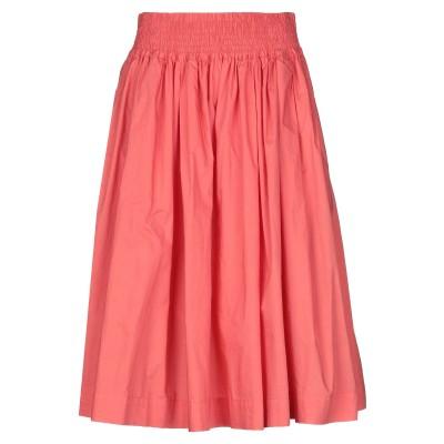 ウールリッチ WOOLRICH 7分丈スカート コーラル S コットン 100% 7分丈スカート
