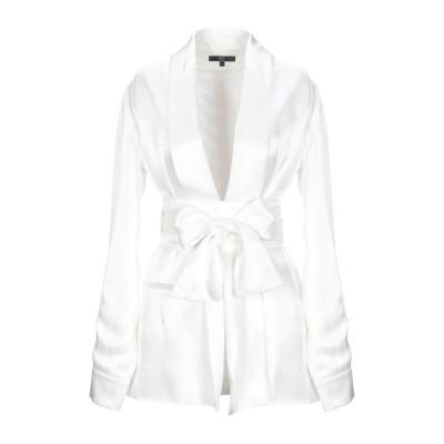 OUD PARIS テーラードジャケット ホワイト L ポリエステル 100% テーラードジャケット