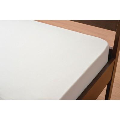 京都西川/ベッド用ボックスシーツ セミダブル ピンク