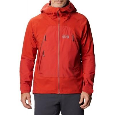 マウンテンハードウェア Mountain Hardwear メンズ ジャケット アウター high exposure gore-tex c-knit jacket Desert Red