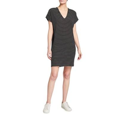 フレーム レディース ワンピース トップス Le V Striped Mini Dress