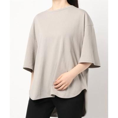 tシャツ Tシャツ ラウンドヘムBIG Tシャツ