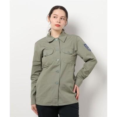 シャツ ブラウス UP46 CHEMISE ワークシャツジャケット