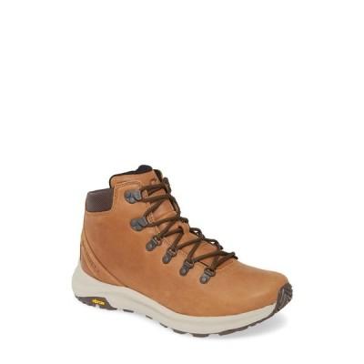 メレル メンズ スニーカー シューズ Ontario Mid Hiking Shoe BROWN SUGA