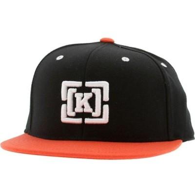 クルー KR3W メンズ キャップ 帽子 Brackets 2 Toned Cap black/orange