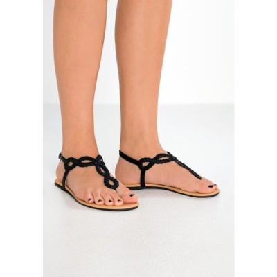 アンナフィールド レディース 靴 シューズ T-bar sandals - black