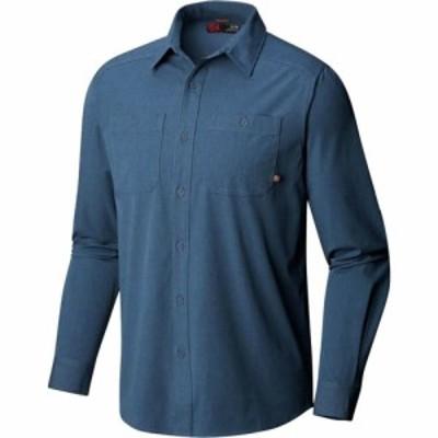マウンテンハードウェア Mountain Hardwear メンズ シャツ トップス Riveter Twill Long - Sleeve Shirt Zinc
