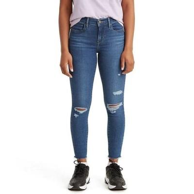 リーバイス レディース デニムパンツ ボトムス Levi'sR 710 Destructed Mid Rise Super Skinny Jeans