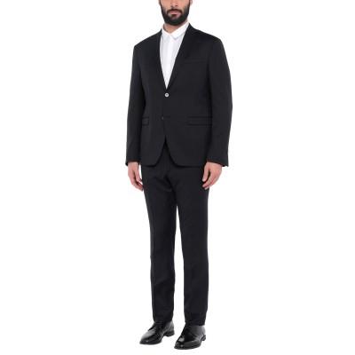 DOMENICO TAGLIENTE スーツ ブラック 56 スーパー110 ウール 100% スーツ