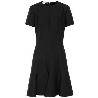 ステラ マッカートニー Stella McCartney レディース ワンピース ワンピース・ドレス Wool-blend crepe dress Black