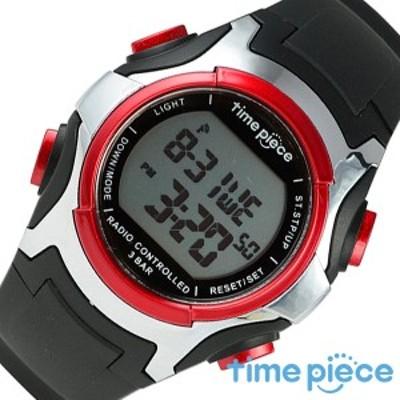 タイムピース腕時計 Time Piece時計 Time Piece 腕時計 タイムピース 時計 メンズ 男性 ホワイト TPW-001RD