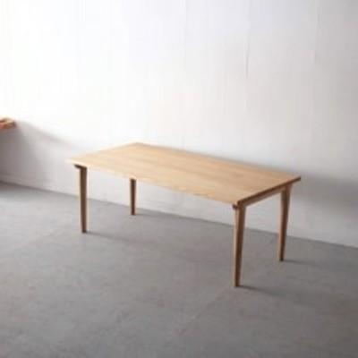 MOOTHシリーズ ダイニングテーブル(道産ナラ材) W1800×D900×H700