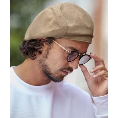 CAMBIO / mko9964-シンセティックスエードベレー帽 MEN 帽子 > ハンチング/ベレー帽
